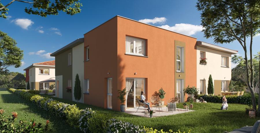 Appartement neuf Duplex-Jardin à Danjoutin
