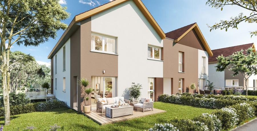 Appartement neuf Duplex-Jardin à Duntzenheim
