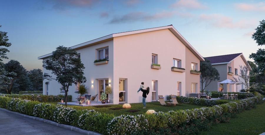 Appartement neuf Duplex-Jardin à Frasne