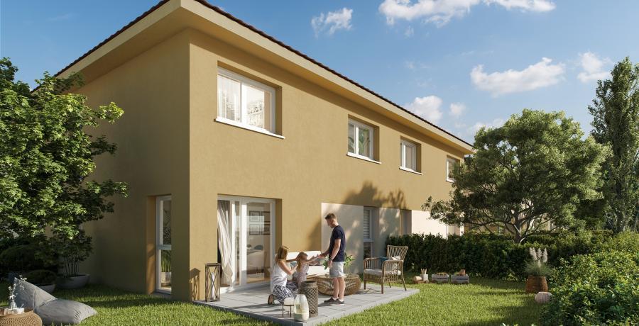 Appartement neuf Duplex-jardin à Habsheim