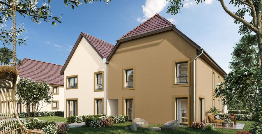 Appartement neuf Duplex-Jardin à Matzenheim