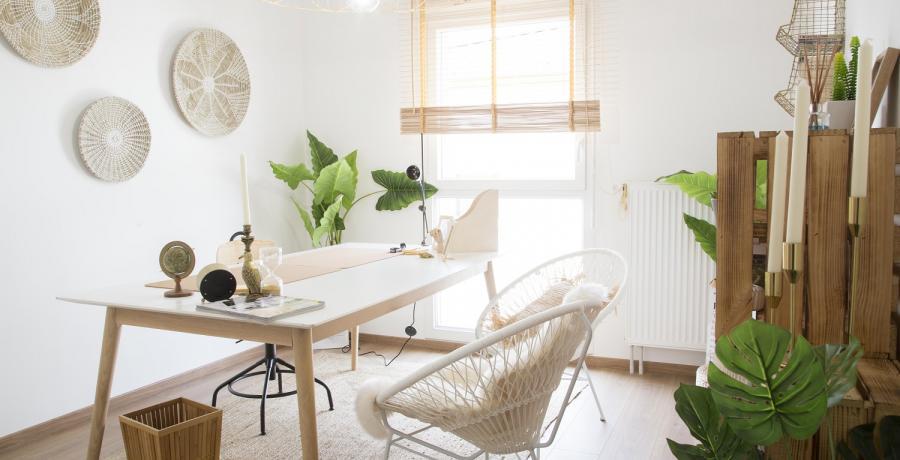 Programme immobilier neuf à Danjoutin : les Carrés Poètes, duplex-jardin bureau