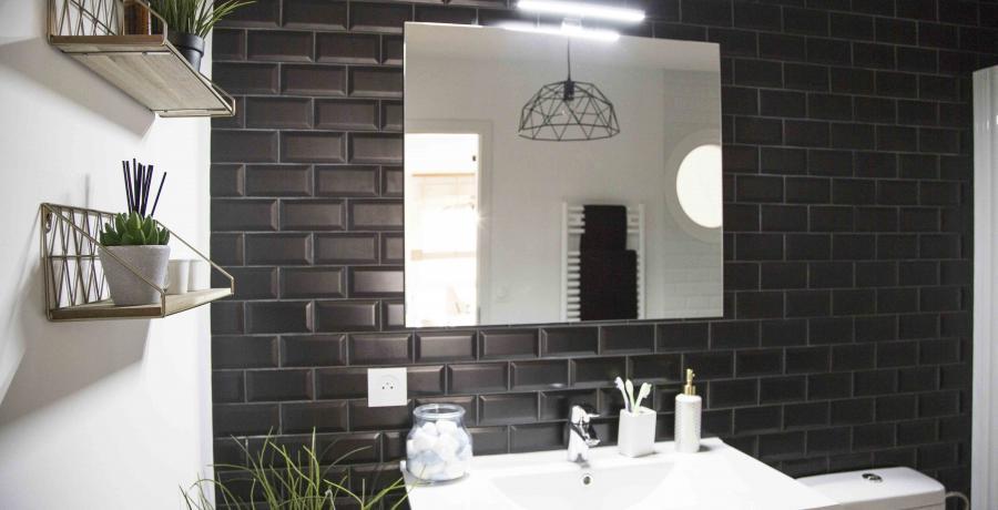 programme immobilier neuf à Habsheim : les carrés Voltige, duplex-jardin chambre salle de bain