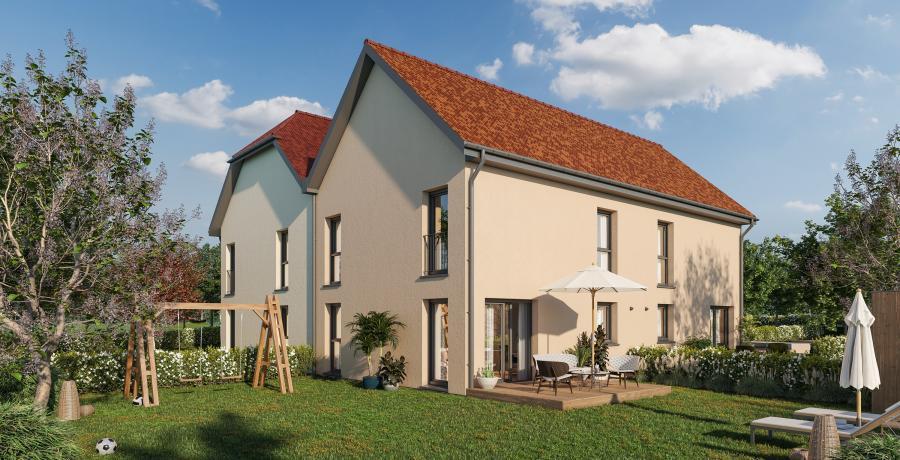 Appartement neuf Duplex-Jardin à Wasselonne