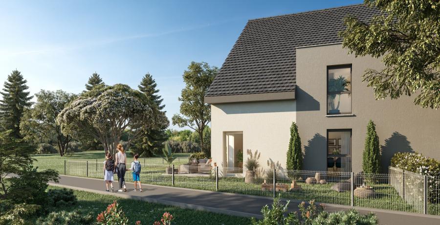 Appartement neuf Duplex-Jardin à Jettingen