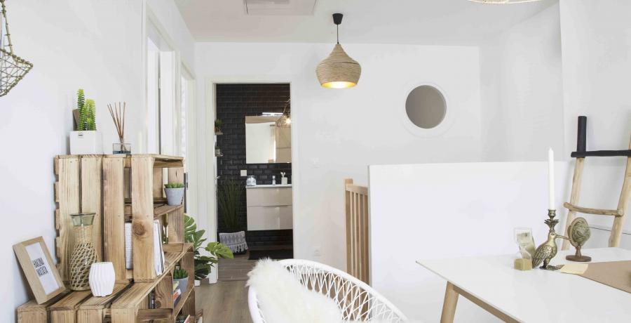 programme immobilier neuf à Jettingen : les Carrés du Thalbach, duplex-jardin mezzanine