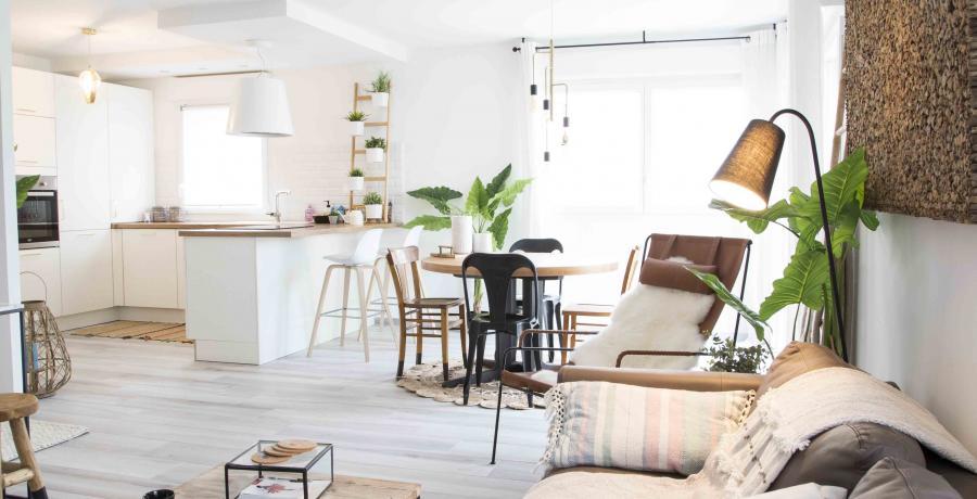 programme immobilier neuf à Jettingen : les Carrés du Thalbach, duplex-jardin pièce de vie