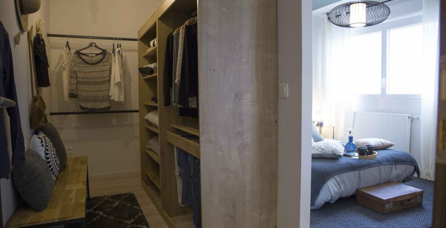 programme immobilier neuf à epfig : les carrés Kipéti, duplex-jardin dressing