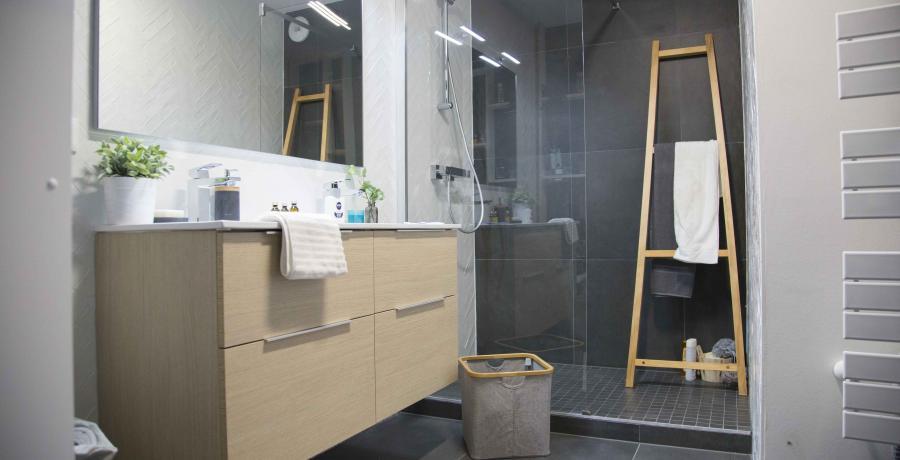 programme immobilier neuf à epfig : les carrés Kipéti, duplex-jardin salle de bain