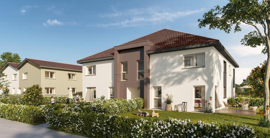 Appartement neuf Duplex-Jardin à Chavanoz