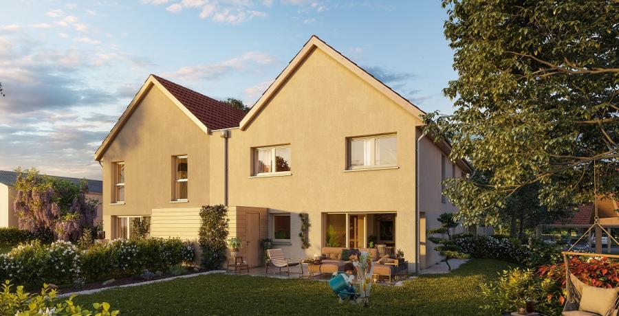 Appartement neuf Duplex-Jardin à Sennecey-lès-Dijon