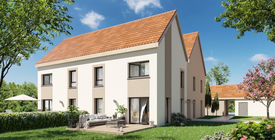 Appartement neuf Duplex-Jardin à Krautergersheim