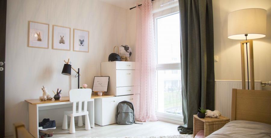 programme immobilier neuf à krautergersheim : les carrés cécile, duplex-jardin chambre enfant